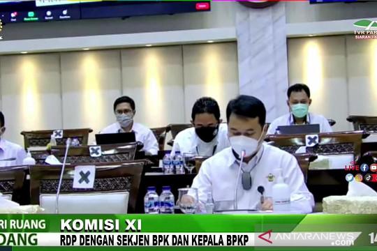 BPK ajukan ke DPR penambahan anggaran 2022 sebesar Rp891 miliar