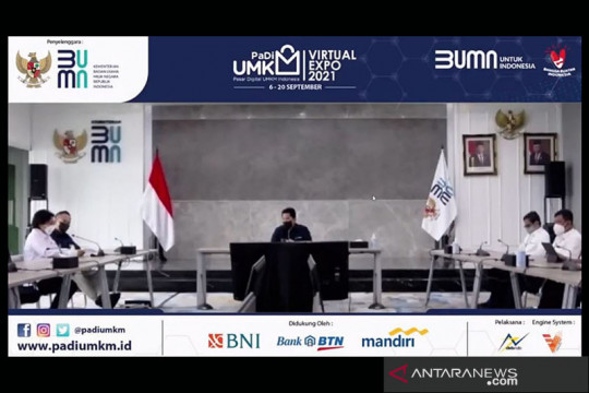 Erick Thohir sebut pameran PaDI sebagai jalan UMKM naik kelas