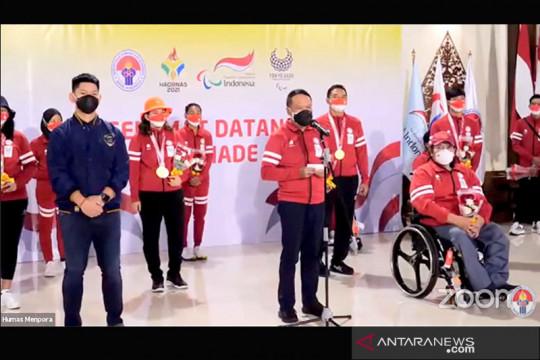 Kloter terakhir Kontingen Indonesia tiba di Tanah Air