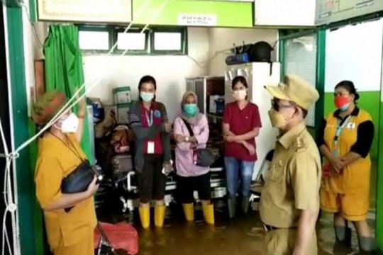 Bupati Katingan prihatin RSUD Mas Amsyar Kasongan ikut dilanda banjir