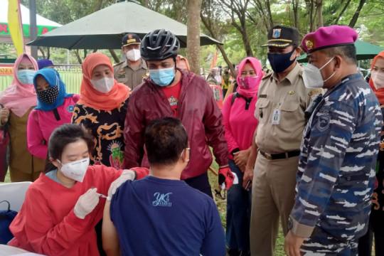 Vaksinasi COVID-19 di Taman Melati Cilangkap targetkan 2.500 orang