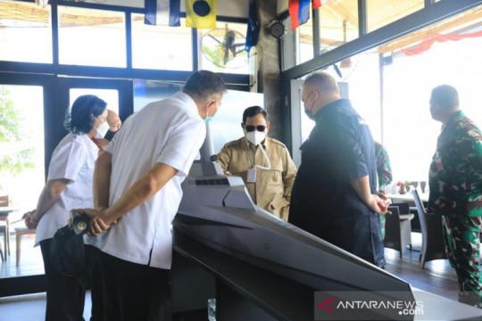 Menhan Prabowo kunjungi industri pertahanan PT Lundin