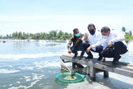Menteri Trenggono: Tambak udang di Aceh Timur ciptakan multiplier effect