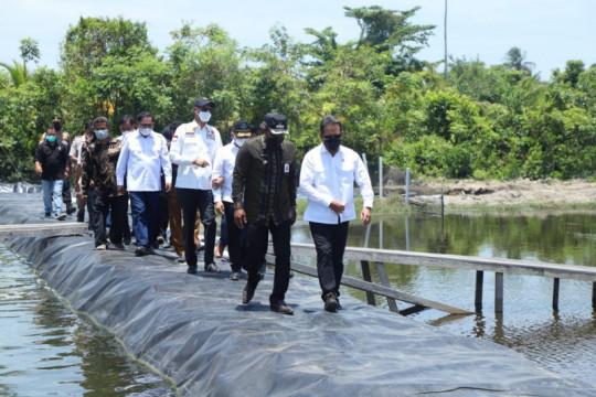 Menteri Trenggono sebut tambak udang KKP di Aceh dorong pariwisata
