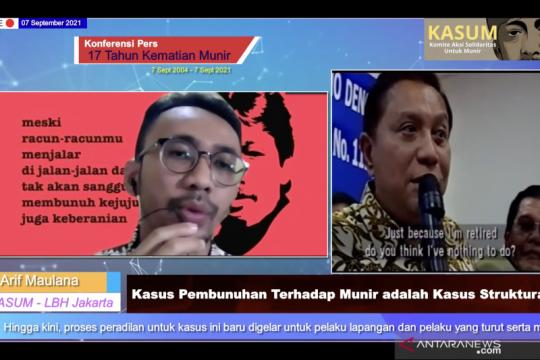 LBH Jakarta: Masih ada harapan tuntaskan kasus Munir