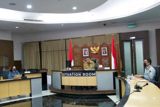 Moeldoko memimpin rapat evaluasi terkait penyelesaian konflik agaria