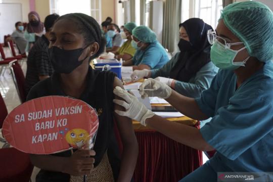 Capaian vaksinasi COVID-19 di Papua Barat