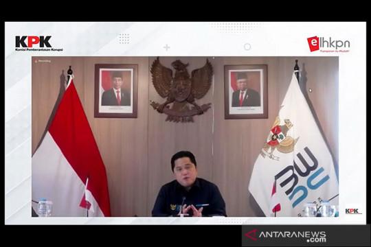 Erick: Kementerian akan miliki dashboard pemantau data keuangan BUMN