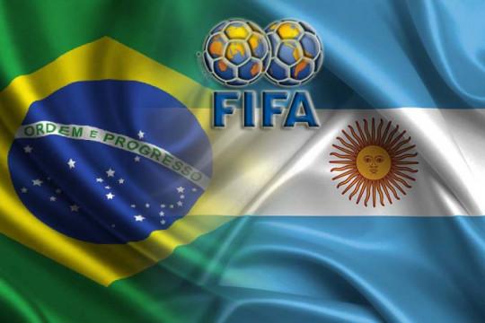 FIFA selidiki penghentian laga Brazil vs Argentina