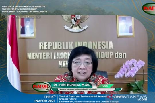 Menteri LHK paparkan peran standardisasi instrumen lingkungan
