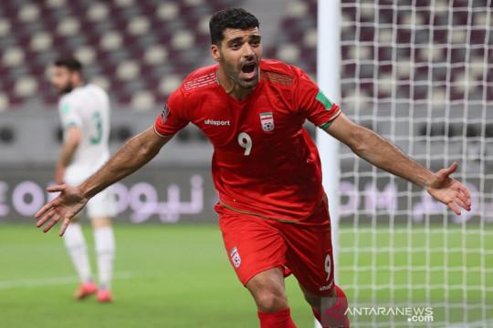 Iran lanjutkan tren positif saat lumat Irak 3-0