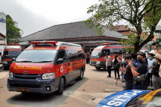 Jenazah korban kebakaran LP Tangerang dipindah ke RS Polri
