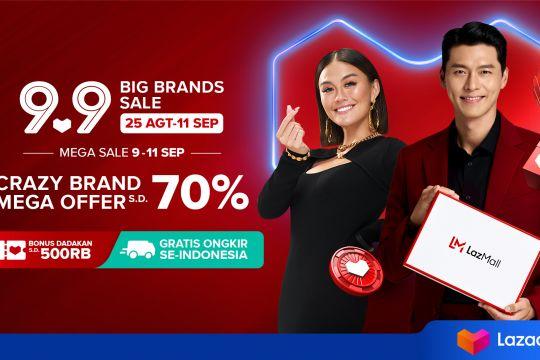 """Lazada siapkan ribuan """"brand"""" ternama untuk 9.9 Big Brands Sale"""