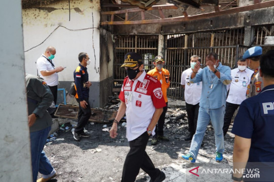 Warga Negara Afsel dan Portugal jadi korban kebakaran lapas