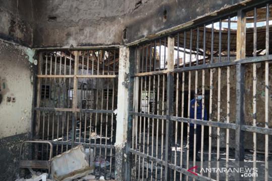 Menkumham janjikan santunan Rp30 juta bagi korban kebakaran lapas