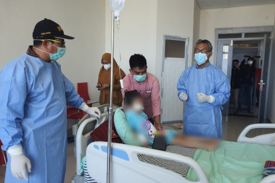 Dokter: Kondisi bocah di Gowa berangsur-ansur membaik