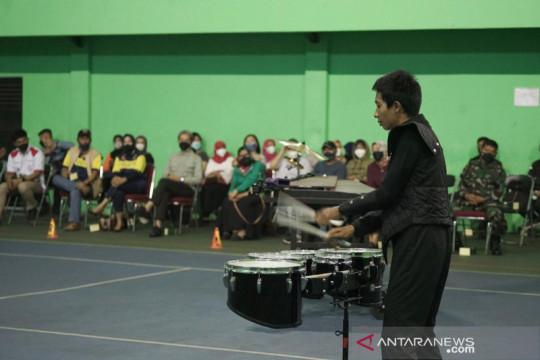 Atlet drum band Kota bogor juara FMP 2021