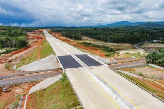 PMN cair, konstruksi Jalan Tol Trans Sumatera dipastikan progresif