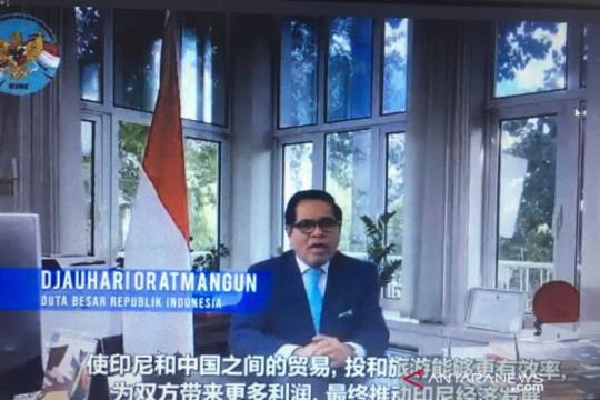 Dubes semangati pengusaha Indonesia agar tak mengeluh masuk China