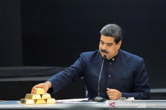 Cadangan emas bank sentral Venezuela jatuh saat Maduro cari uang tunai