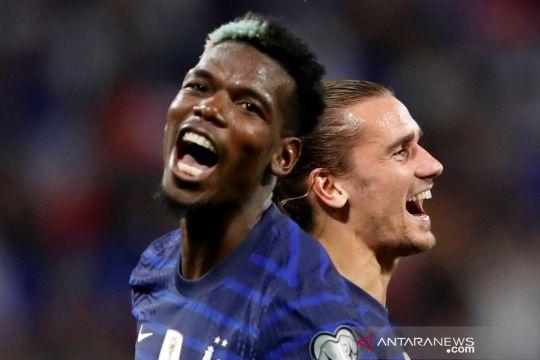 Kualifikasi Piala Dunia 2022: Dua gol Griezmann menangkan Prancis atas Finlandia