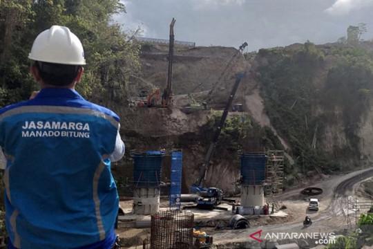 Jasa Marga targetkan Tol Danowudu-Bitung beroperasi Desember 2021