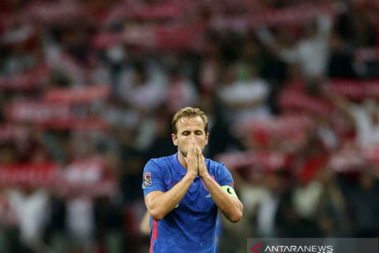 Inggris ditahan imbang Polandia 1-1