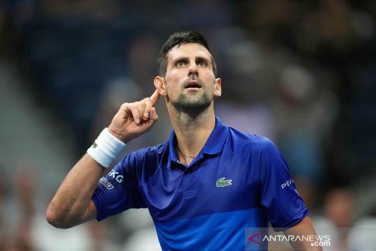 Djokovic melaju ke semifinal AS Terbuka