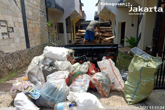 Bank sampah di Kebagusan hasilkan 253 kg sampah anorganik