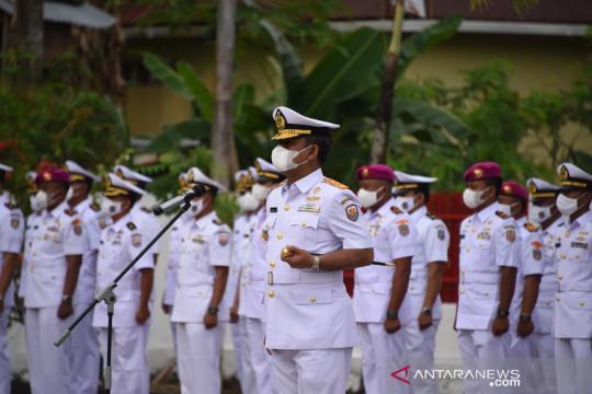 Danlantamal XIII pimpin ziarah ke TMP Dwikora Tarakan
