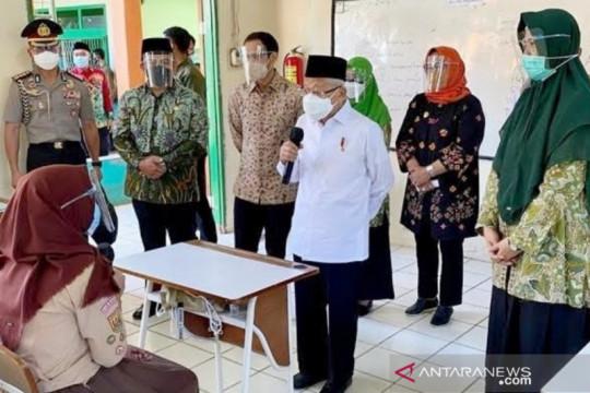 80 persen dari 3.222 sekolah di Bogor laksanakan PTM