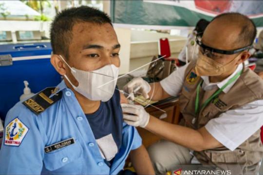 Penerima vaksin lengkap awal pekan capai 48,92 juta warga Indonesia