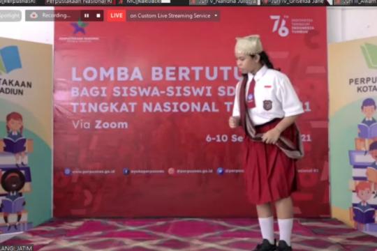 Perwakilan Jawa Timur raih juara satu lomba bertutur tingkat SD/MI