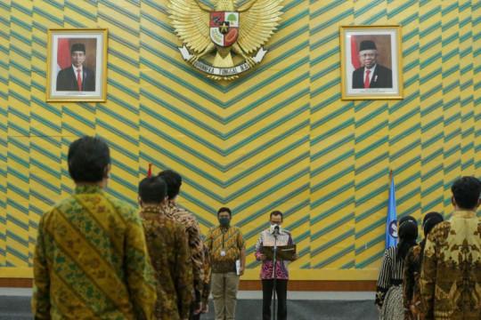 Ditjen DIktiristek kukuhkan 22 agen perubahan reformasi birokrasi