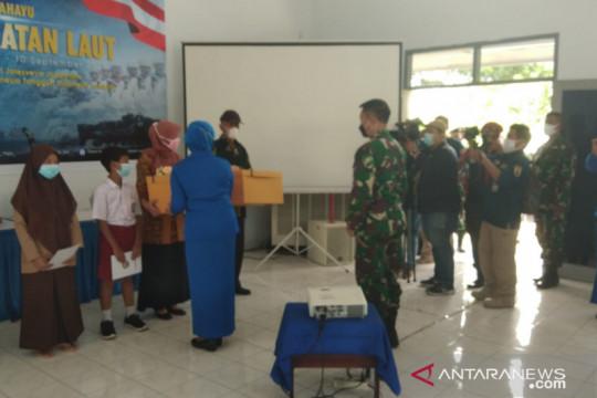 Diskomlekal gelar tasyakuran HUT ke-76 TNI AL di Cariu