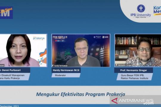 Guru Besar IPB: Program Kartu Prakerja beri nilai manfaat tinggi