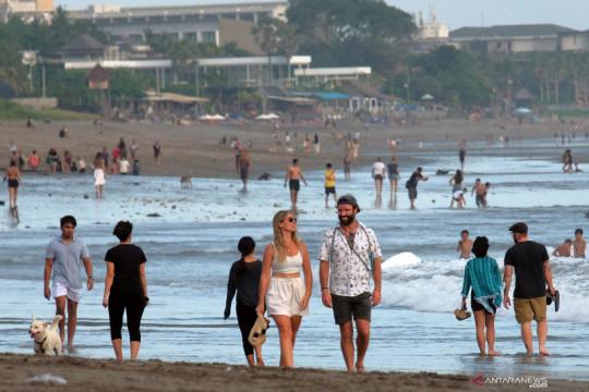Hari kedua uji coba pembukaan destinasi wisata di Bali