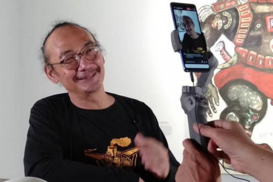 Menyelami seniman Heri Dono, hadirkan satire lewat sentuhan budaya