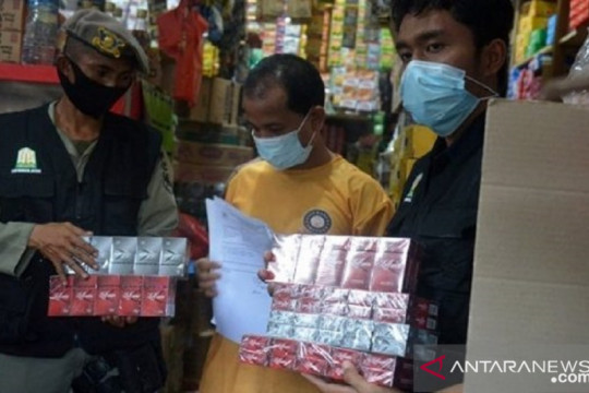 Di Madura, Bea Cukai tindak produsen rokok ilegal