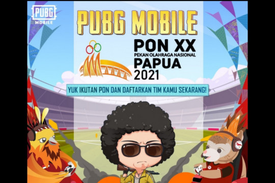 16 tim esport PUBG Mobile mainkan grand final eksibisi PON Papua