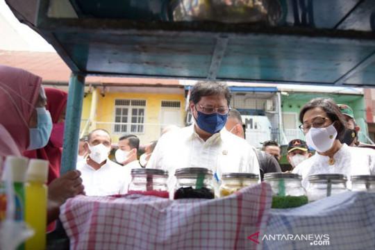Sri Mulyani alokasikan Rp1,2 triliun untuk TNI dan Polri bantu PKL