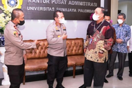Unsri berikan kesempatan beasiswa anggota Polda Sumsel kuliah S2
