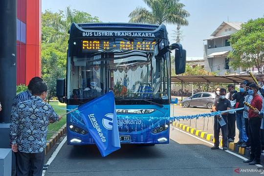 TransJakarta uji coba satu unit bus listrik