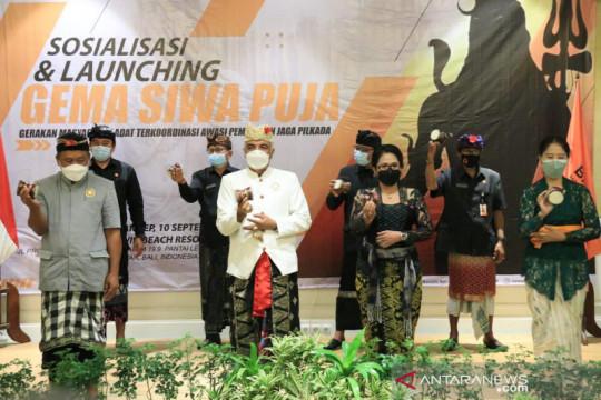 Bawaslu dan MDA Bali luncurkan Gema Siwa Puja untuk bantu pengawasan