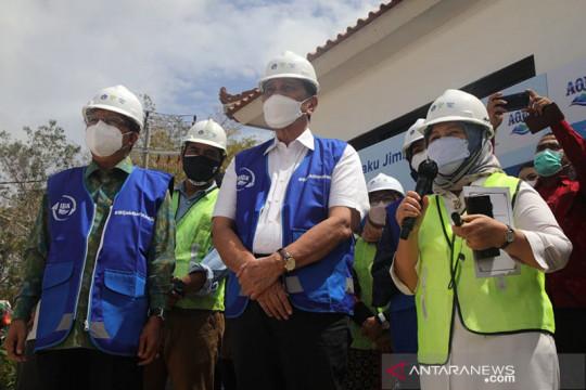 Luhut resmikan pengolahan sampah terpadu di Jimbaran Bali