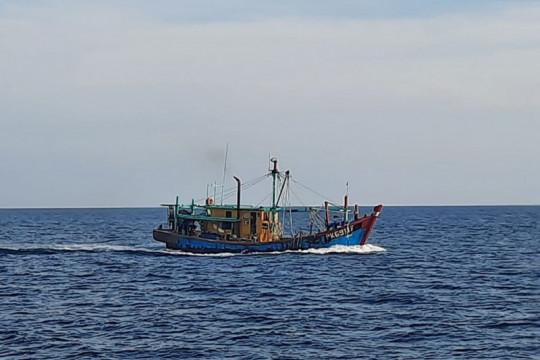 KKP tangkap kapal ikan ilegal asal Malaysia di Selat Malaka