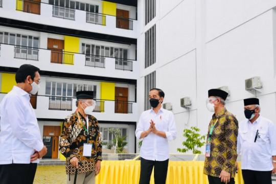 Presiden tinjau infrastruktur Madrasah Mu'allimin Muhammadiyah DIY