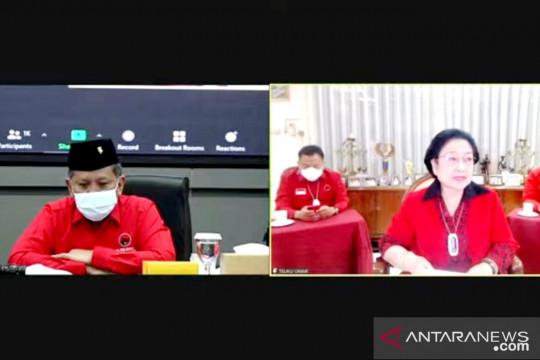 Megawati: Pandemi tak hentikan PDIP lakukan pendidikan kader