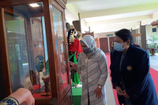 Wali Kota Mojokerto jadikan rumah dinas tempat pameran topeng