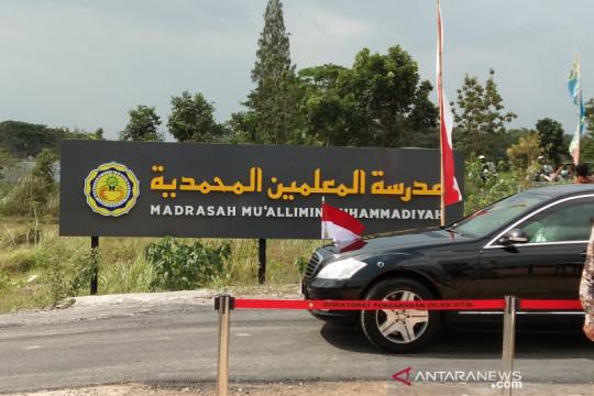 Presiden kunjungi Madrasah Muallimin Muhammadiyah yang dibangun negara